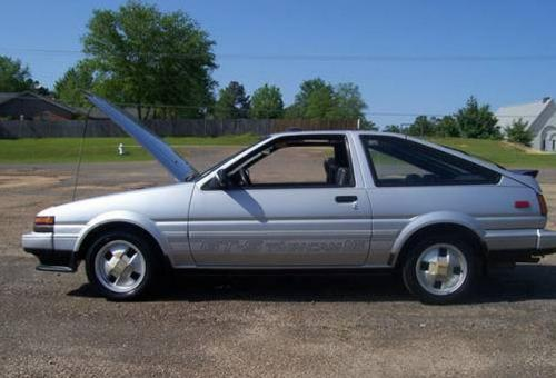 Photo Image Gallery & Touchup Paint: Toyota Corollasport in Silver Metallic   (147)  YEARS: 1985-1985