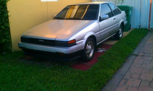Photo Image Gallery & Touchup Paint: Toyota Corollasport in Silver Metallic   (148)  YEARS: 1987-1987