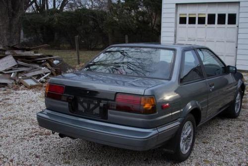 Photo Image Gallery & Touchup Paint: Toyota Corollasport in Medium Gray Metallic  (159)  YEARS: 1986-1987