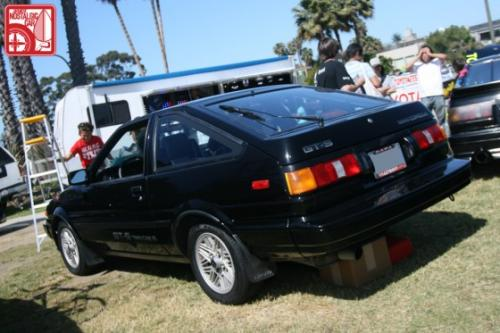Photo Image Gallery & Touchup Paint: Toyota Corollasport in Black    (202)  YEARS: 1987-1987