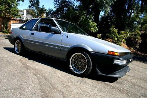 Photo Image Gallery & Touchup Paint: Toyota Corollasport in Silver Gray   (23D)  YEARS: 1987-1987