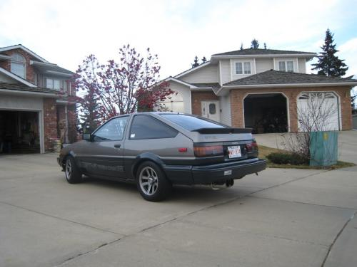 Photo Image Gallery & Touchup Paint: Toyota Corollasport in Gray Black   (2C5)  YEARS: 1985-1985