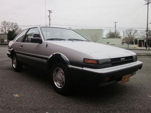 Photo Image Gallery & Touchup Paint: Toyota Corollasport in Silver Black   (2M8)  YEARS: 1984-1984