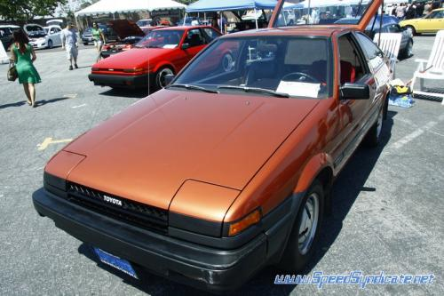 Photo Image Gallery & Touchup Paint: Toyota Corollasport in Dark Orange Metallic  (3D6)  YEARS: 1984-1984