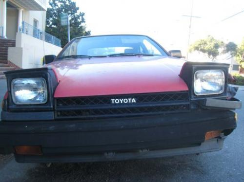 Photo Image Gallery & Touchup Paint: Toyota Corollasport in Red    (3D7)  YEARS: 1984-1984