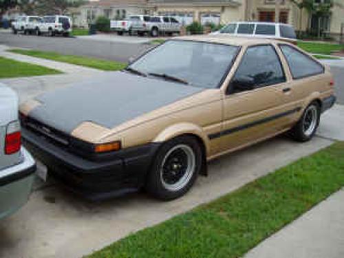 Photo Image Gallery & Touchup Paint: Toyota Corollasport in Light Topaz Metallic  (4E1)  YEARS: 1984-1984