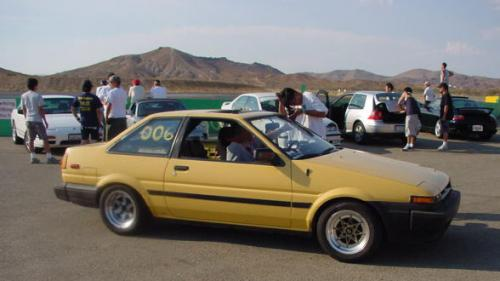 Photo Image Gallery & Touchup Paint: Toyota Corollasport in Yellow    (558)  YEARS: 1984-1984
