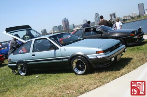 Photo Image Gallery & Touchup Paint: Toyota Corollasport in Light Blue Metallic  (8A8)  YEARS: 1984-1985