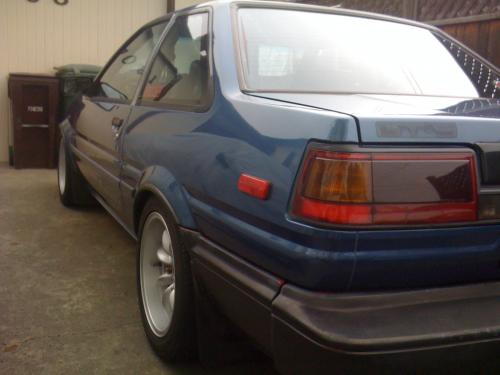 Photo Image Gallery & Touchup Paint: Toyota Corollasport in Blue Metallic   (8D7)  YEARS: 1987-1987