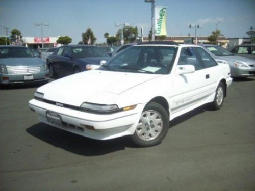 Photo Image Gallery & Touchup Paint: Toyota Corollasport in Super White   (040)  YEARS: 1988-1991