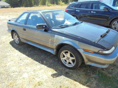 Photo Image Gallery & Touchup Paint: Toyota Corollasport in Black Gray   (29E)  YEARS: 1988-1989