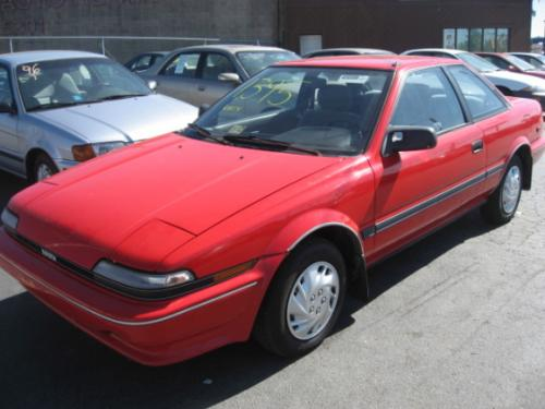 Photo Image Gallery & Touchup Paint: Toyota Corollasport in Super Red   (3E5)  YEARS: 1988-1991