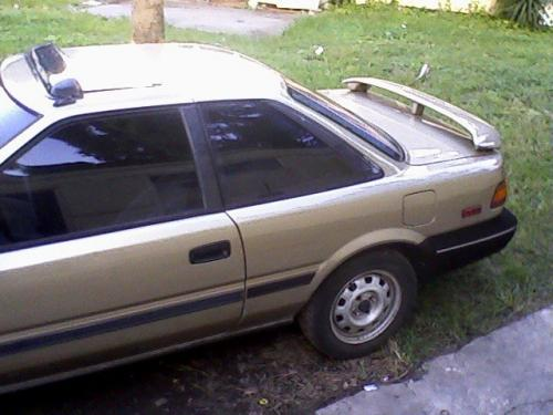 Photo Image Gallery & Touchup Paint: Toyota Corollasport in Beige Metallic   (4H6)  YEARS: 1988-1989