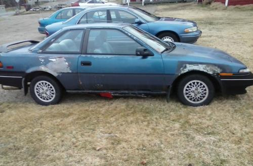 Photo Image Gallery & Touchup Paint: Toyota Corollasport in Blue Metallic   (8D7)  YEARS: 1988-1988
