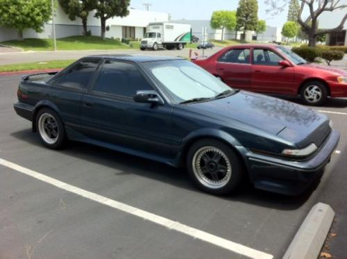 Photo Image Gallery & Touchup Paint: Toyota Corollasport in Dark Blue Pearl  (8E9)  YEARS: 1989-1991