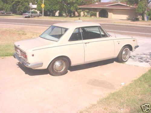 Photo Image Gallery & Touchup Paint: Toyota Corona in Coliseum Beige   (T1123)  YEARS: 1966-1969