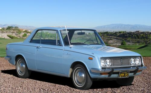 Photo Image Gallery & Touchup Paint: Toyota Corona in Horizontal Blue   (T1208)  YEARS: 1967-1967