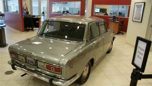 Photo Image Gallery & Touchup Paint: Toyota Corona in Planet Silver   (T1295)  YEARS: 1966-1967