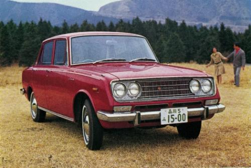 Photo Image Gallery & Touchup Paint: Toyota Corona in Solar Red   (T1297)  YEARS: 1966-1969