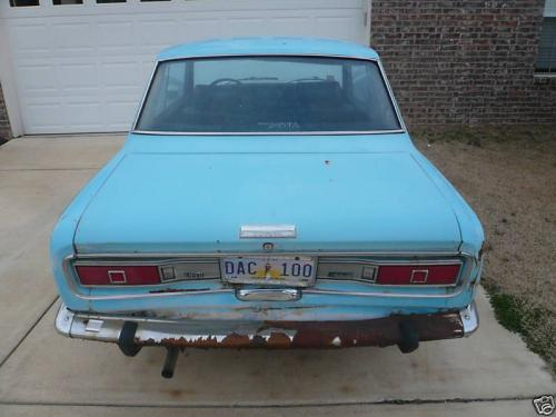 Photo Image Gallery & Touchup Paint: Toyota Corona in Riviera Blue   (T1320)  YEARS: 1969-1969