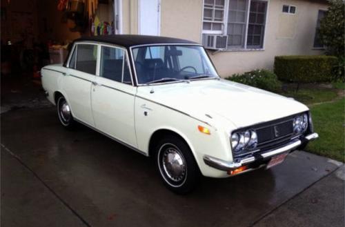 Photo Image Gallery & Touchup Paint: Toyota Corona in Sirius White   (T1391)  YEARS: 1968-1969
