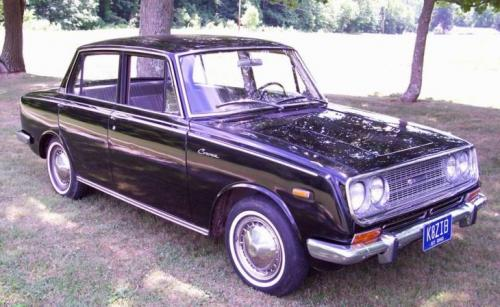 Photo Image Gallery & Touchup Paint: Toyota Corona in Black    (T26)  YEARS: 1967-1969