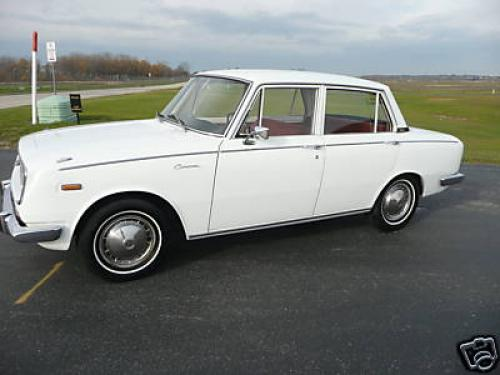 Photo Image Gallery & Touchup Paint: Toyota Corona in Lily White   (T403)  YEARS: 1966-1967