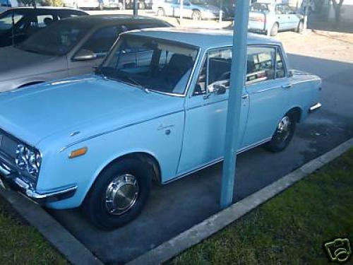 Photo Image Gallery: Toyota Corona in Light Blue   (XX4)  YEARS: -