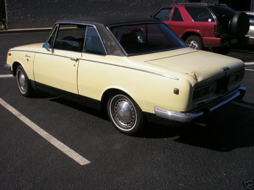 Photo Image Gallery: Toyota Corona in Pale Yellow   (XX9)  YEARS: -