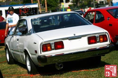 Photo Image Gallery & Touchup Paint: Toyota Corona in White    (012)  YEARS: 1974-1976