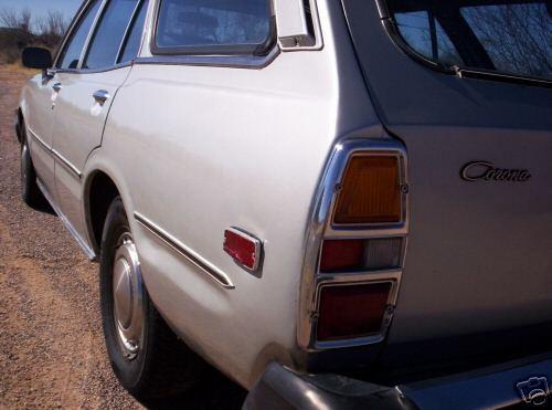 Photo Image Gallery & Touchup Paint: Toyota Corona in Silver Metallic   (128)  YEARS: 1974-1978