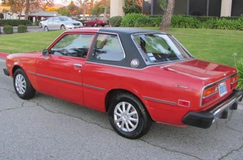 Photo Image Gallery & Touchup Paint: Toyota Corona in Red    (336)  YEARS: 1976-1978