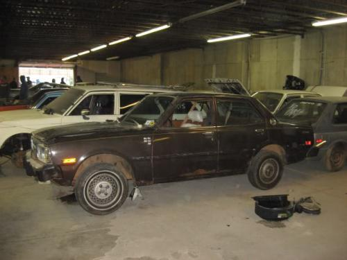 Photo Image Gallery & Touchup Paint: Toyota Corona in Dark Brown Metallic  (455)  YEARS: 1974-1977