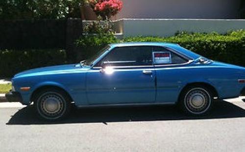 Photo Image Gallery: Toyota Corona in Light Blue Metallic  (861)  YEARS: -