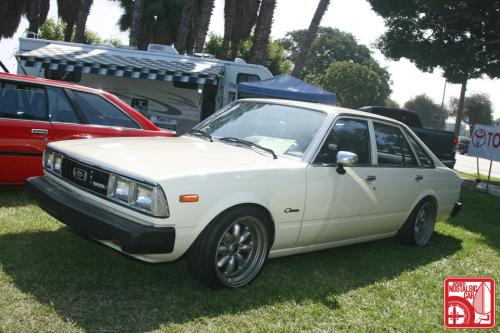 Photo Image Gallery & Touchup Paint: Toyota Corona in White    (030)  YEARS: 1979-1979