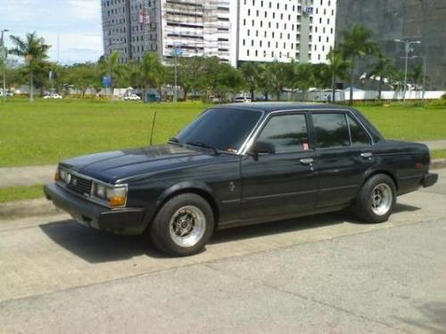 Photo Image Gallery & Touchup Paint: Toyota Corona in Black Metallic   (6A8)  YEARS: 1979-1981