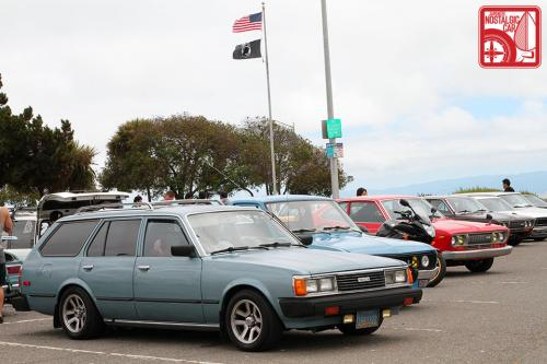 Photo Image Gallery & Touchup Paint: Toyota Corona in Turquoise Metallic   (721)  YEARS: 1982-1982