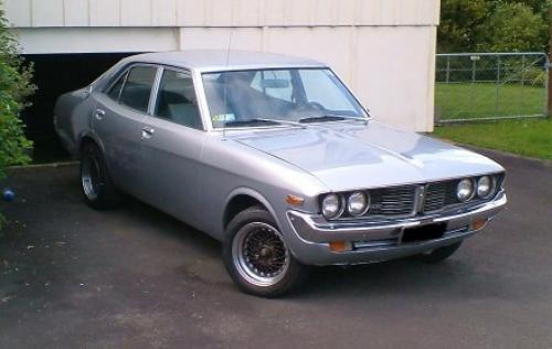 Photo Image Gallery & Touchup Paint: Toyota Coronamkii in Silver Metallic   (119)  YEARS: 1973-1975