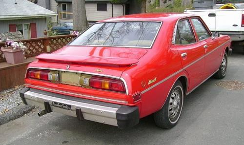 Photo Image Gallery & Touchup Paint: Toyota Coronamkii in Red    (335)  YEARS: 1975-1976