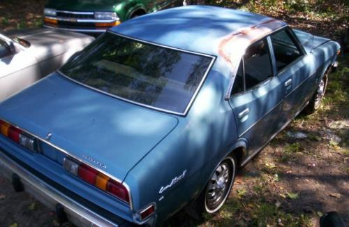 Photo Image Gallery & Touchup Paint: Toyota Coronamkii in Light Blue Metallic  (802)  YEARS: 1974-1976