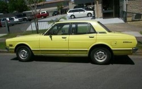 Photo Image Gallery & Touchup Paint: Toyota Cressida in Yellow    (532)  YEARS: 1978-1978