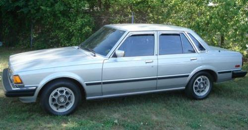 Photo Image Gallery & Touchup Paint: Toyota Cressida in Silver Metallic   (137)  YEARS: 1981-1981