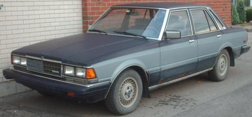 Photo Image Gallery & Touchup Paint: Toyota Cressida in Dkblue Ltblue   (2D8)  YEARS: 1982-1983