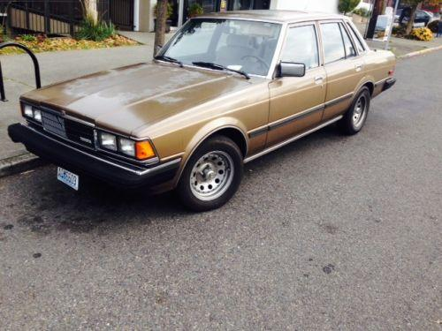 Photo Image Gallery & Touchup Paint: Toyota Cressida in Cinnamon Metallic   (4A9)  YEARS: 1982-1982
