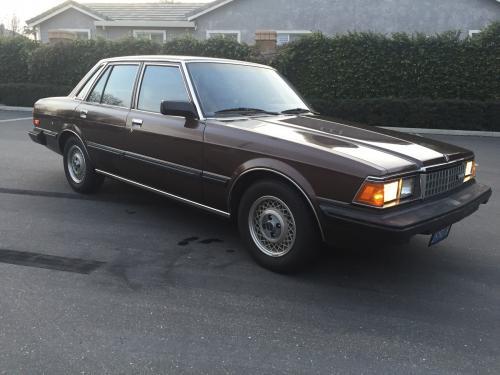 Photo Image Gallery & Touchup Paint: Toyota Cressida in Dark Brown Metallic  (4C4)  YEARS: 1983-1983