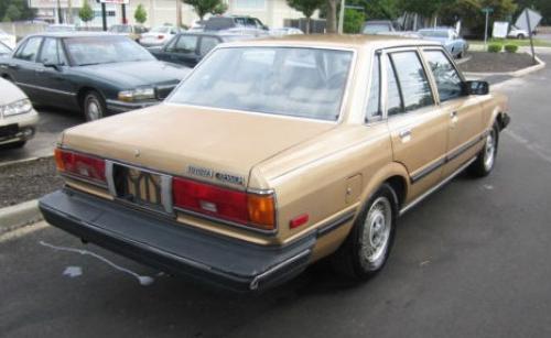 Photo Image Gallery & Touchup Paint: Toyota Cressida in Light Topaz Metallic  (4E1)  YEARS: 1984-1984