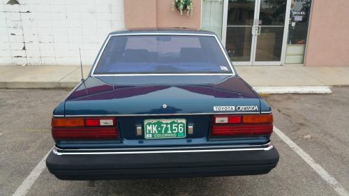 Photo Image Gallery & Touchup Paint: Toyota Cressida in Dark Blue Metallic  (879)  YEARS: 1981-1981