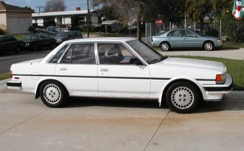 Photo Image Gallery & Touchup Paint: Toyota Cressida in White Pearl   (042)  YEARS: 1988-1988