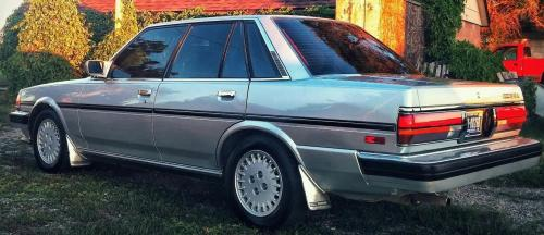 Photo Image Gallery & Touchup Paint: Toyota Cressida in Silver Metallic   (166)  YEARS: 1987-1988