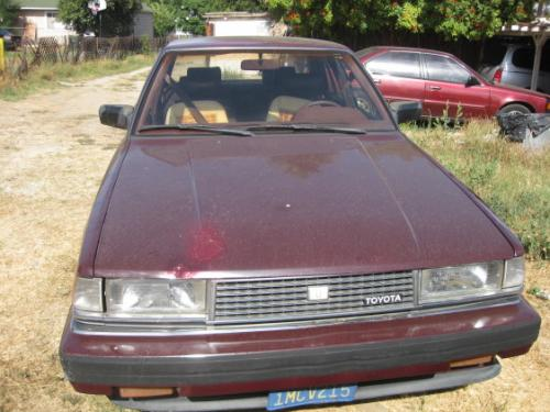 Photo Image Gallery & Touchup Paint: Toyota Cressida in Deep Maroon   (3E8)  YEARS: 1985-1986